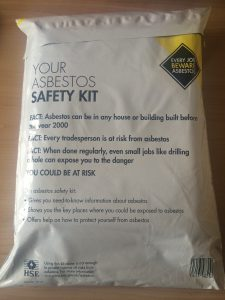 Asbestos safety kit